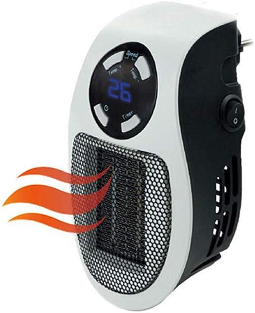 Calentador Micro 500W con El Mini Ventilador Teledirigido del ...