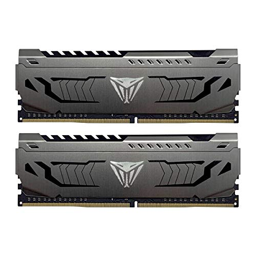Patriot Viper Steel DDR4 16GB (2 x 8GB) 3000MHz Kit w/Gunmetal Grey heatshield
