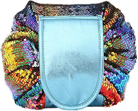化粧品袋 大容量の化粧品袋ポータブル化粧品収納袋多機能トラベルコスメティックバッグ 旅行化粧収納ボックス (Color : Multi-colored)
