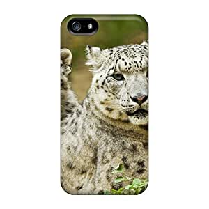 5/5s Scratch-proof Protection Cases Covers For Iphone/ Hot Resting Snow Leopards Phone Cases
