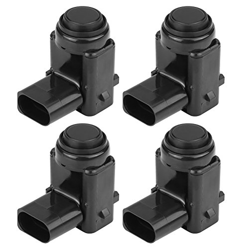 4Pcs Car Bumper PDC Parking Reverse Sensor Parking Sensor Car Distance Control Sensor, 1J0919275:
