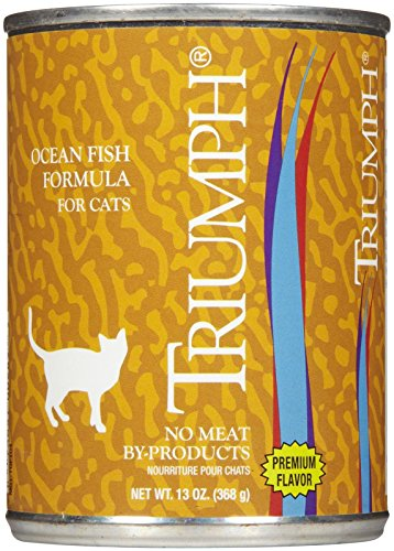 Triumph Ocean Fish Canned Cat Food, Case Of 12, 13.2 Oz.