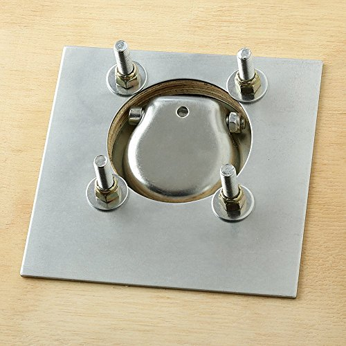 Trailer Tiedown Anchor w// Backing Plate  3-Pack D-Ring Recessed 6,000 lb Cap
