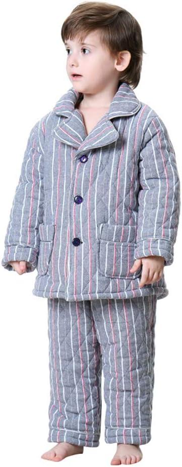 Pijamas dos piezas Pijama Invierno Grueso Acolchado algodón ...