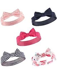 Hudson Baby Baby-Girl 5 Pack Headband