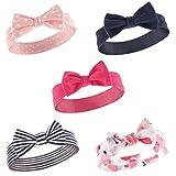 Hudson Baby Baby Girls Headband, 5 Pack