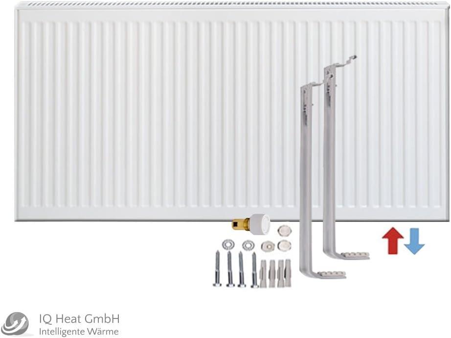 Viessmann Universalheizk/örper als Ventil-Heizk/örper Typ 33 BH 600 vers Halter /… BL 600 L/ängen