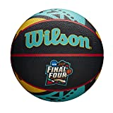 Wilson Sporting Goods NCAA Men's Final Four Official Rubber Basketball, Multi