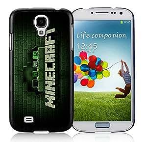 Beautiful And Antiskid Designed With Minecraft Game Samsung Galaxy S4 I9500 i337 M919 i545 r970 l720 Black Phone Case 014