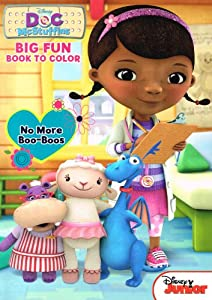doc mcstuffins big fun coloring book item may vary - Doc Mcstuffins Coloring Book