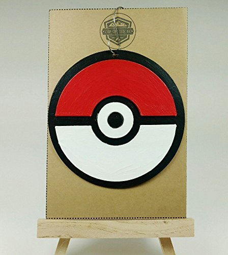 Pokeball Ornament | Pokemon | Comic Book Gifts | Pikachu | Rear View Mirror | Secret Santa | Anime | Pokemon Go | Mew | Gift Exchange]()