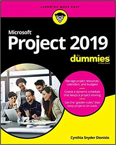 Amazon com: Microsoft Project 2019 For Dummies (Project for