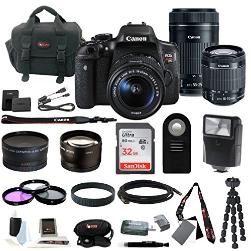 Canon Rebel T6i Digital SLR Camera Bundles