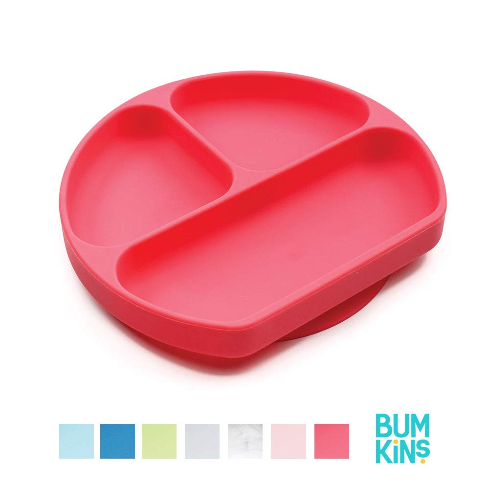 Bumkins Silicone Grip Dish Lid Clear