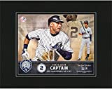 """Derek Jeter New York Yankees 8"""" x 10"""" Jersey Retirement Matted Photo - Fanatics Authentic Certified - MLB Player Plaques and Collages"""