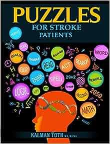 Amazon com: Puzzles for Stroke Patients: Rebuild Language
