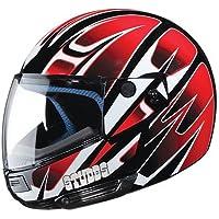Studds Full Face Helmet Ninja D4 (Black N2, XL)