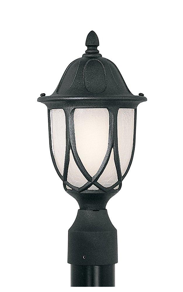 Designers Fountain 2866-BK Capella Post Lanterns, Black