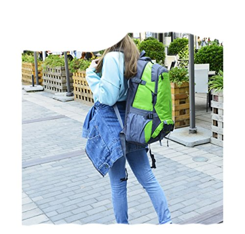 Outdoor Leisure Bag purpose Travel Laidaye Multi Shoulder Backpack Mountaineering Business Blue YwdnqB