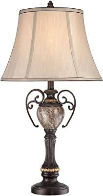 Dale Tiffany Ta90197 Ginger Mica Accent Lamp Antique