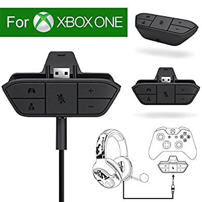 Noa Store Stereo Headset Headphone Audio Game Adapter For Microsoft Xbox One Controller