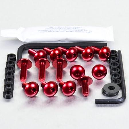 Kit carenatura in alluminio nero Pro-Bolt R1200GS