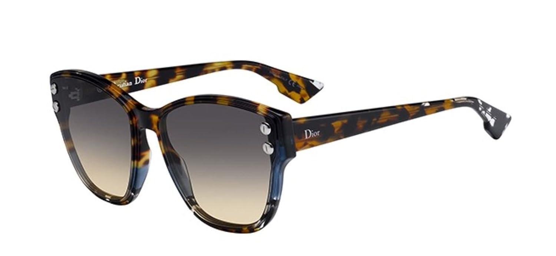 531ee5190b7 Authentic Christian Dior Dioraddict 3 JBW 86 Blue Havana Sunglasses   Amazon.co.uk  Clothing