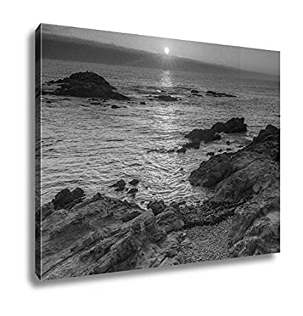 Ashley Canvas Bean Hollow State Beach Sunset Wall Art Home Decor Ready To Hang