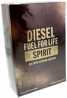 Diesel Fuel For Life Spirit Men's EDT Eau De Toilette Spray - DFFLS1951411