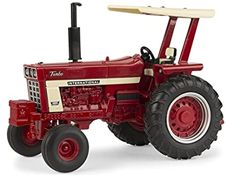 amazon com ertl 1 32 international harvester 1066 with rops and
