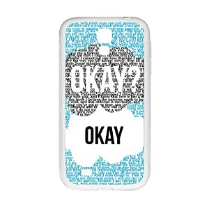 Fresh warm dialogue Cell Phone Case for Samsung Galaxy S4