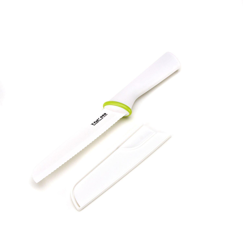 T-fal 84210 Zen Ceramic Bread Knife, 6-Inch