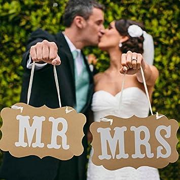 Switty Vintage Hochzeit Stuhl Wimpelkette Schilder Foto Requisiten