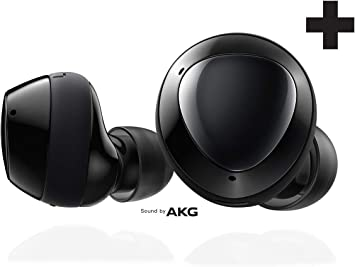 Amazon Com Samsung Galaxy Buds Plus True Wireless Earbuds Wireless Charging Case Included Black Us Version