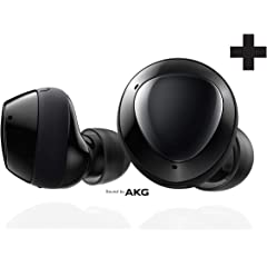 Product Image: Samsung Galaxy Buds+ Plus, True Wireless Earbuds w/improved battery and call quality (Wireless Charging Case included), Black – US Version