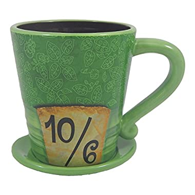 Disney Parks Exclusive Alice in Wonderland Mad as a Hatter Ceramic Coffee Mug