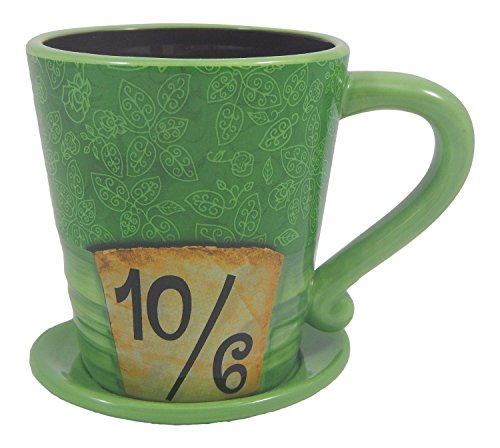 Disney Parks Exclusive Alice in Wonderland Mad as a Hatter Ceramic Coffee -