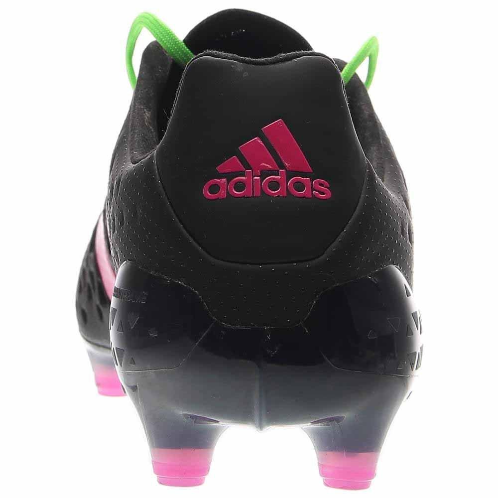 Adidas Crampons 6.5 Ace 16,1 Fg ag, Noir vert rose