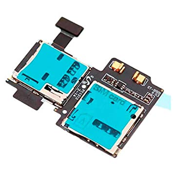 Flex Lector Tarjeta Sim Micro SD Reparacion para Samsung Galaxy S4 i9500 Cable