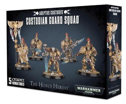 Warhammer 40k Custodian Guard Squad by Warhammer