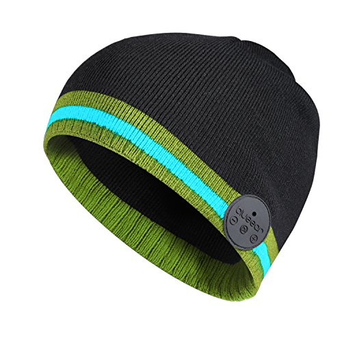 Bluetooth Hat Music Beanie Headphone for Men and Women 8 Hours Working Time for Outdoor Sports