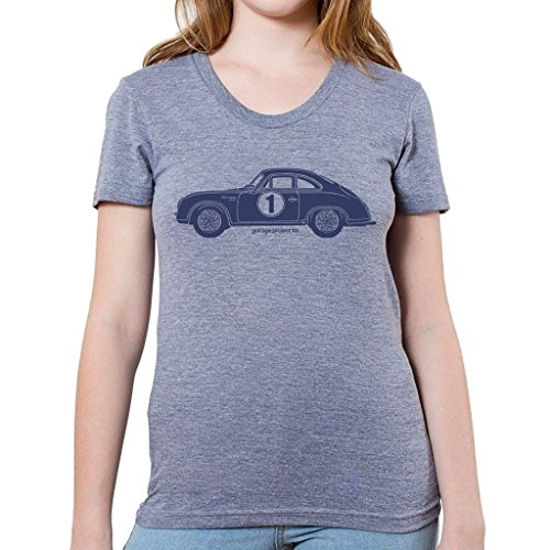 Porsche 356 Racing - GarageProject101 Porsche 356A GT Women's T-Shirt (Junior Size) S Athletic Gray