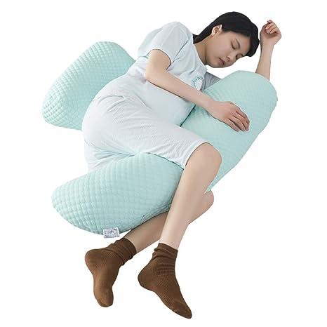 Almohada de cuerpo completo para embarazadas, con forma de U ...