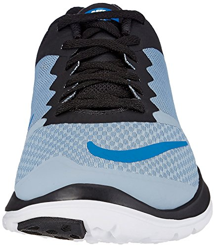 Nike Fs Lite Run 3, Zapatillas de Running para Hombre Azul (Azul (Blue Grey/Photo Blue-Black-Wht))