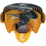 Vornado Unique Portable Durable Steel Heavy-Duty Shop Fan with 2 Wall Brackets and Carrying Handle
