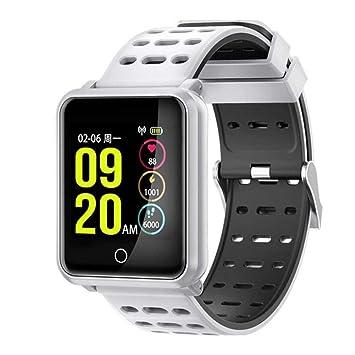 ZKKZ Reloj Inteligente Reloj de 1.3 Pulgadas Totalmente Compatible ...