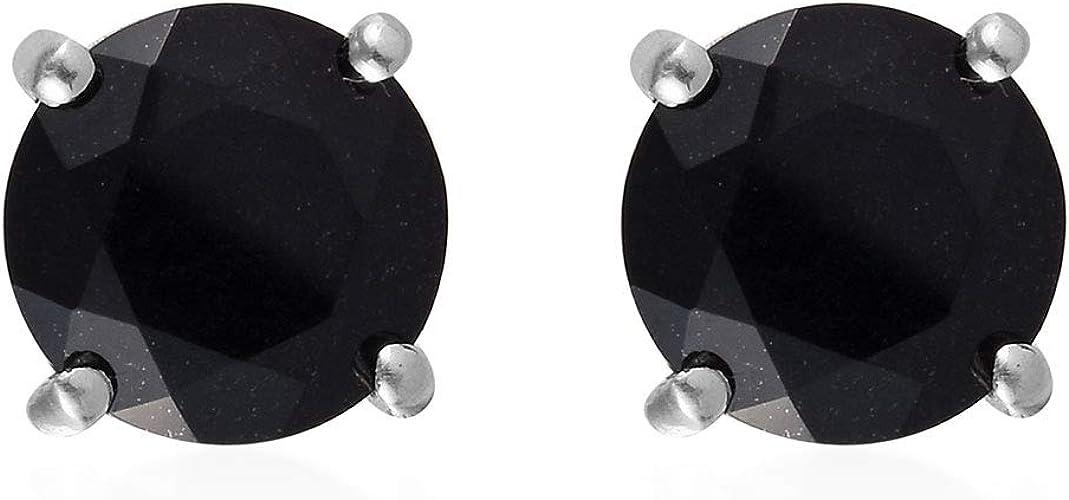 PLATINUM /& SS DIAMOND CELTIC ETERNITY NECKLACE FREE EARRINGS SZ 7 MM SZ 8 MM