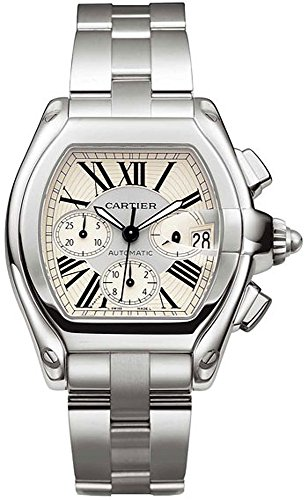 Cartier Men's W62019X6 Roadster Automatic Chronograph Watch