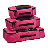 Best Hopsooken-pouches - Hopsooken Packing Cubes System - 3 Pieces Sets Review