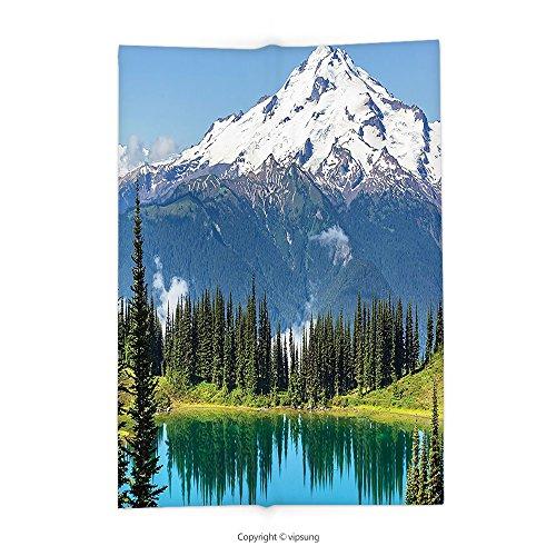 b70d20b684e5 Amazon.com  vipsung Throw Blanket with Americana Landscape Decor ...